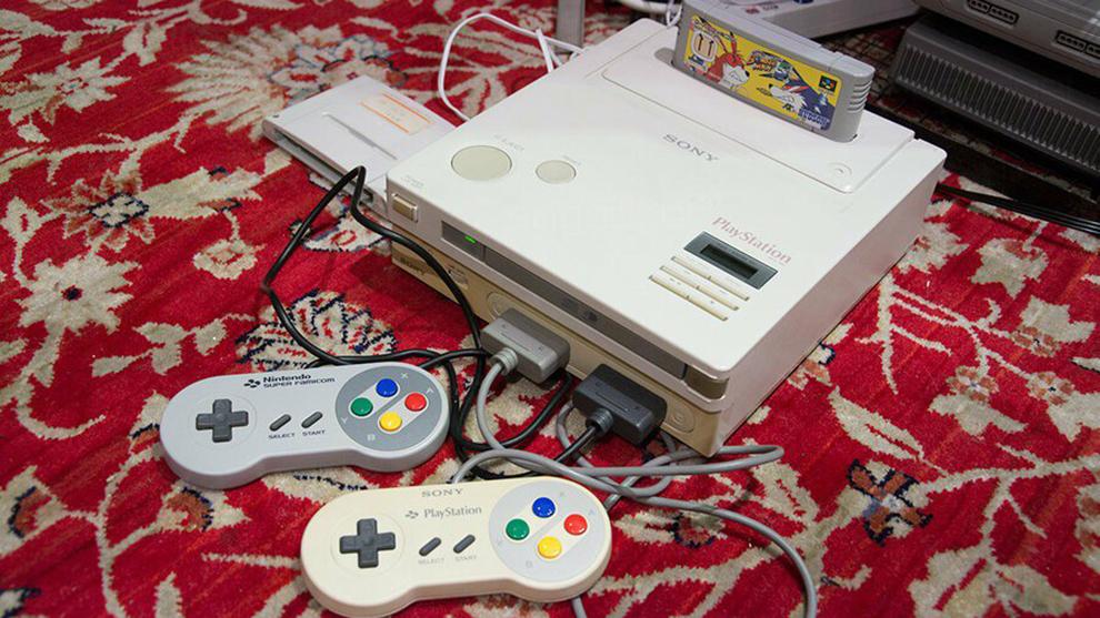 La Nintendo PlayStation es uno de los protipos de consola más raros...