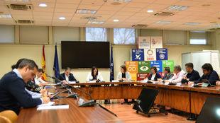 Reunión de la Mesa del Deporte Inclusivo.