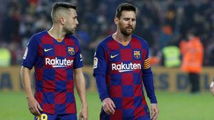 Jodi Alba y Leo Messi