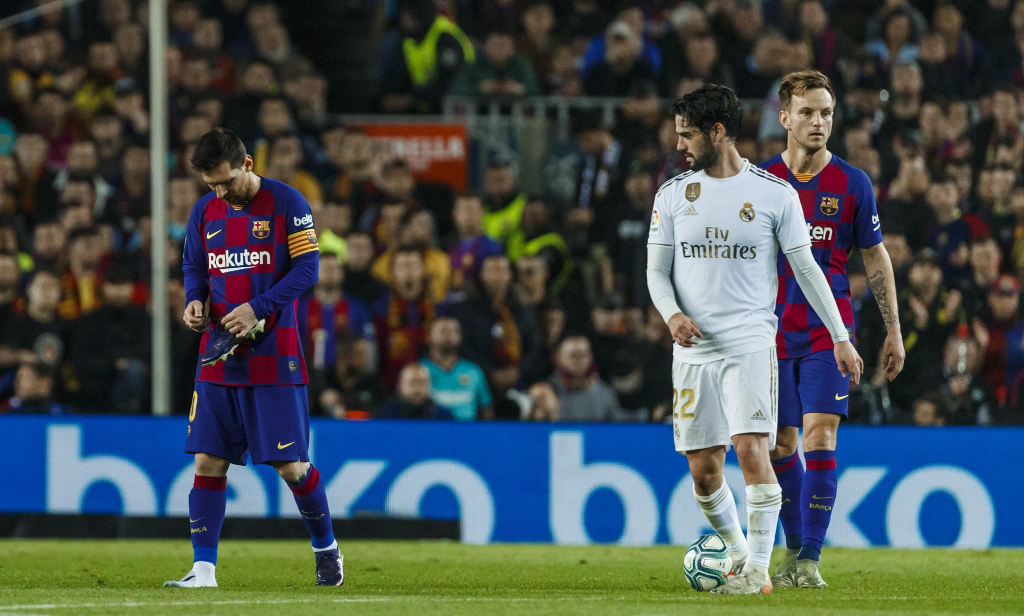 PARTIDO FC BARCELONA Real Madrid, EL CLASICO