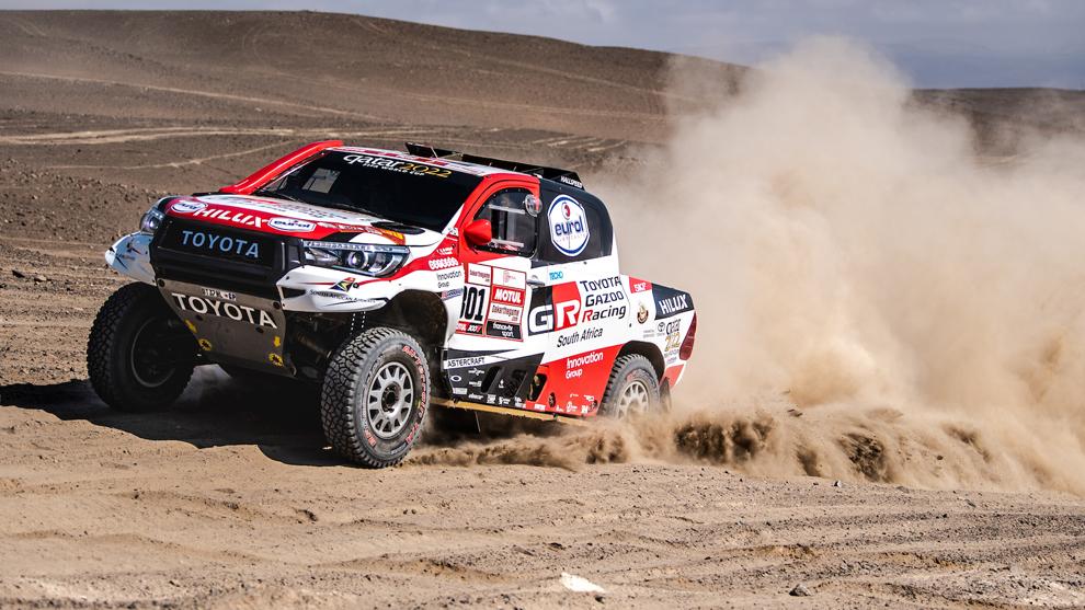 El Hilux es el arma de Toyota para el Dakar 2020.