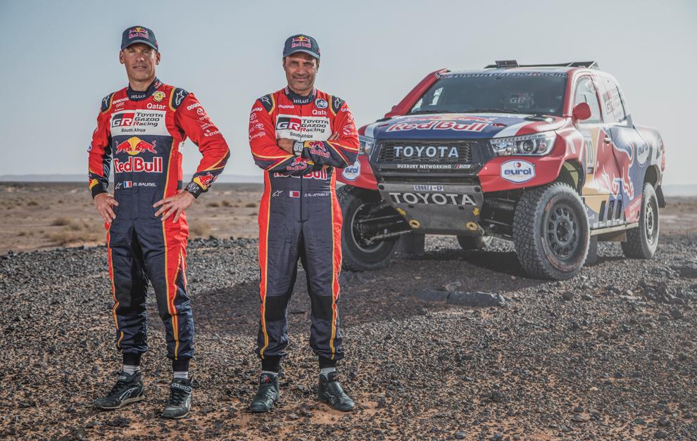 Nasser Al-Attiyah y Mathieu Baumel defienden título en el Dakar 2020.