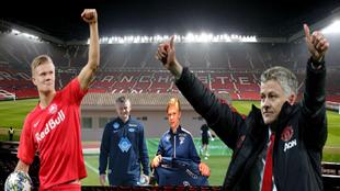 Solskjaer y Haaland podrían coincidir de nuevo en el United