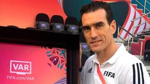 Juan Martínez Munuera estará en el VAR de la final del Mundial de...