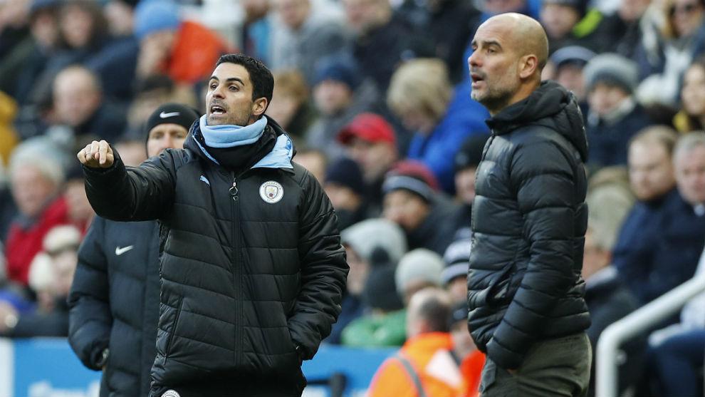 Premier League: Lo que pierde el City sin Arteta: un apoyo esencial en el  juego de Pep | Marca.com