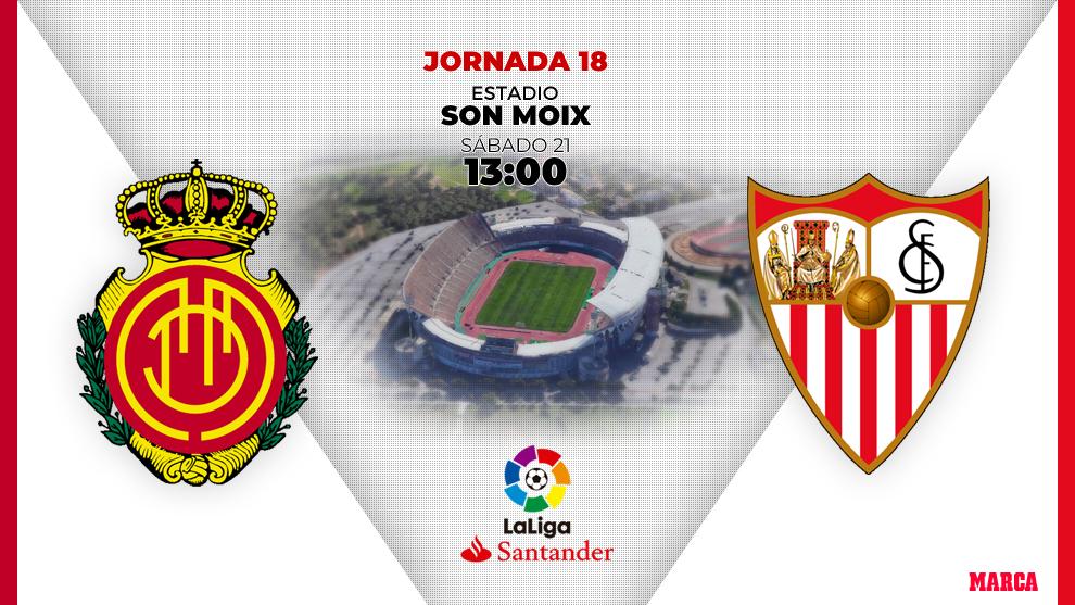 Xem lại Mallorca vs Sevilla, La Liga – 21/12/2019