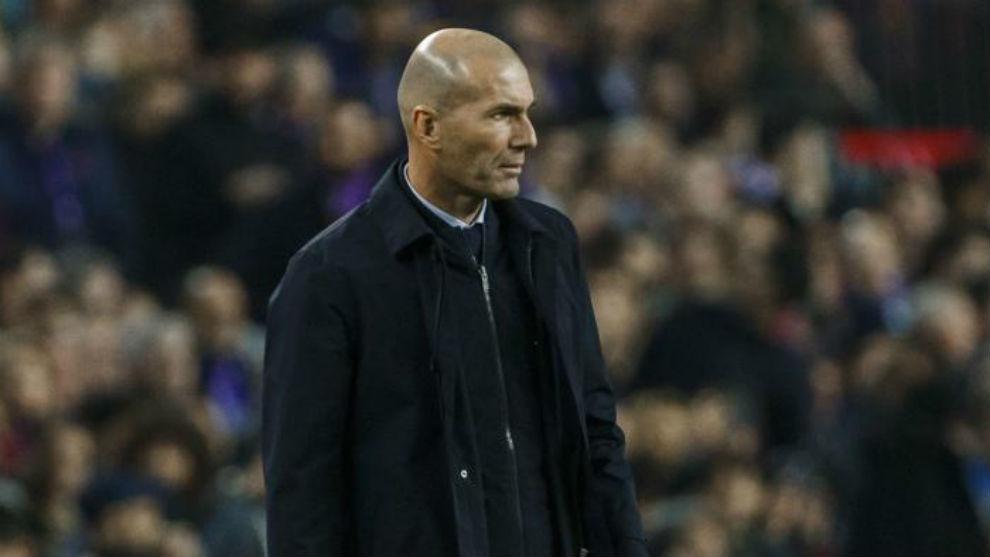 Zidane, en el pasado Clásico.