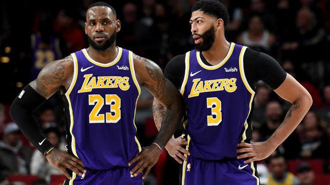 LeBron James y Anthony Davis, artífices del buen inicio de los Lakers