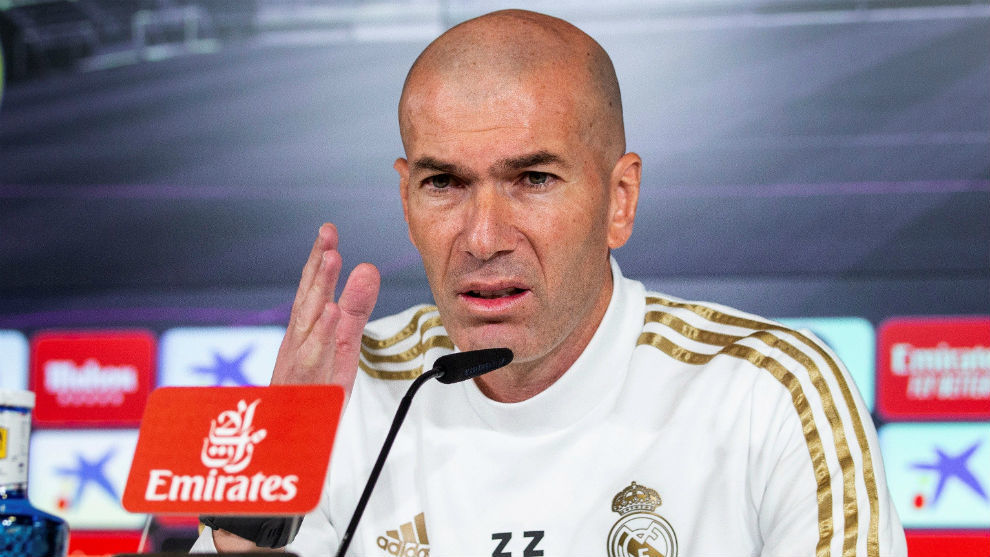 Real Madrid don't need a striker in January transfer window - Zidane