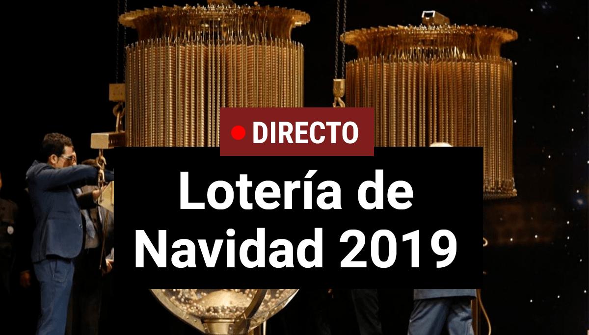 Loteria de Navidad 2019, en directo esperando El Gordo de la Lotería...