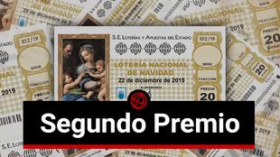 Segundo Premio de Lotería de Navidad 2019