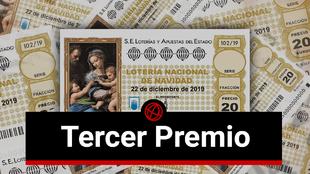 Tercer Premio de la Lotería de Navidad 2019