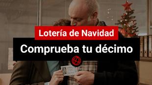 Comprueba tu décimo de la Lotería de Navidad 2019