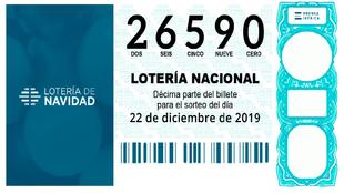 El Gordo del Sorteo de la Lotería de Navidad 2019