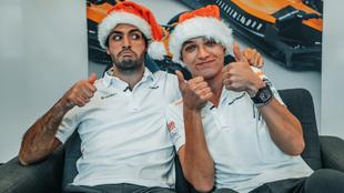 Carlos Sainz y Lando Norris.