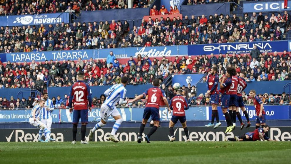 Osasuna Vs Real Sociedad Real Sociedad Survive Osasuna Fightback To Win Seven Goal Thriller Laliga Santander