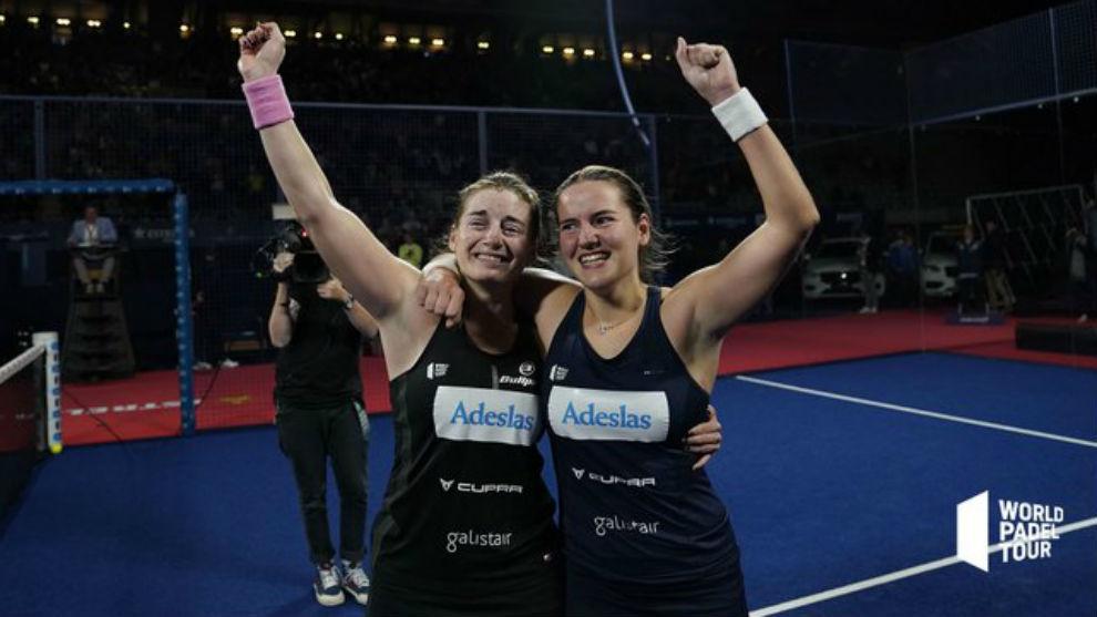 Salazar y Sánchez celebran el título