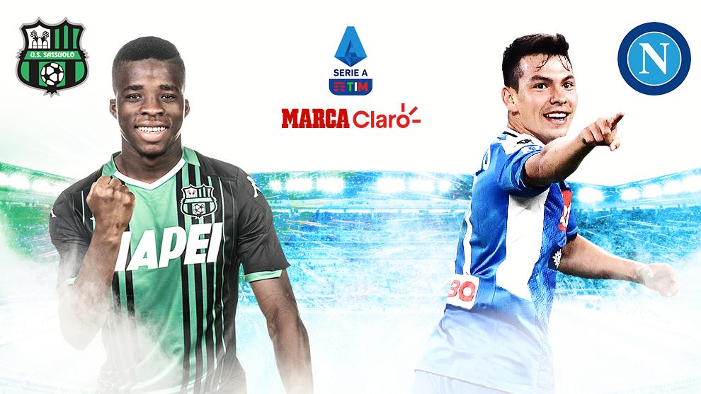Serie A Sassuolo Vs Napoli Resumen Goles Y Resultado