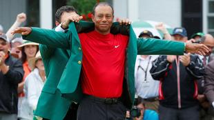 El Tigre volvió a vestir el saco verde.