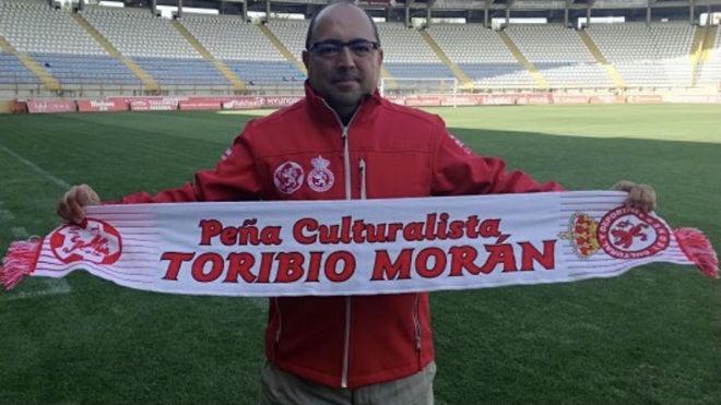 Marcelino García Seijas, Presidente de la Federación de Peñas de la...