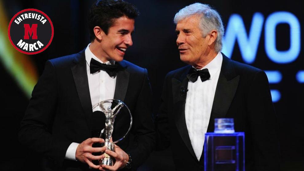 Agostini entregó a Márquez el Laureus al deportista revelación en...