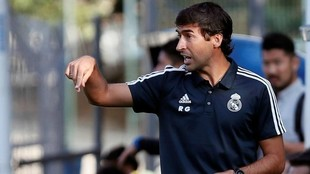 Raúl González, entrenador del Real Madrid Castilla.