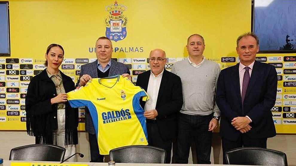 Presentación de la iniciativa con Guacimara Medina,  Miguel Ángel...