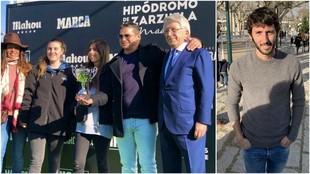 Enrique Cerezo entregó uno de los premios; Esteban Granero también...