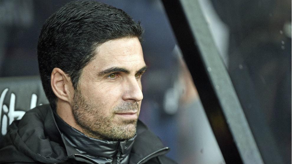 Mikel Arteta (37), en su debut.