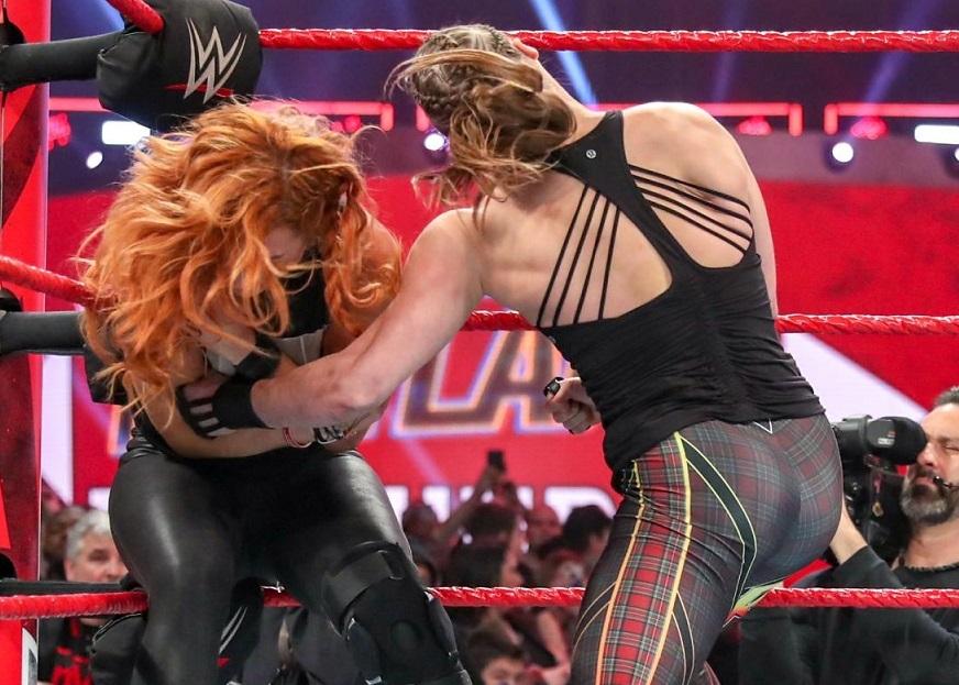 Ronda Rousey return to WWE