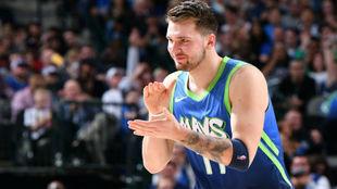 Luka Doncic volvió a disfrutar del baloncesto con una nueva...