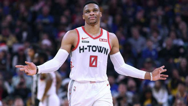 Russell Westbrook podría salir de los Rockets