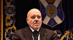 Miguel Concepción, durante la Junta General Ordinaria de la entidad...