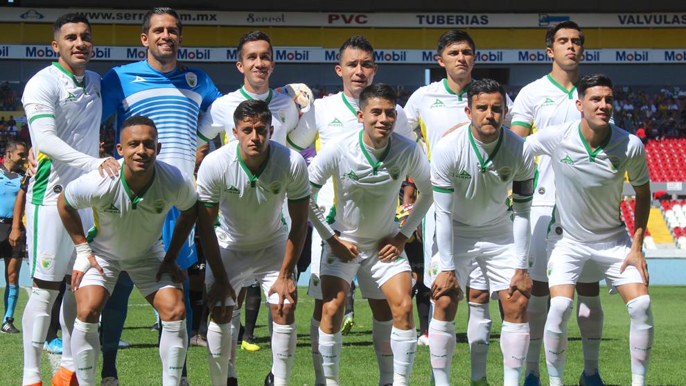 El equipo de Loros de Colima en su último partido del Apertura 2019...