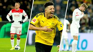 Rouwen Hennings, Jadon Sancho y Timo Werner han firmado una gran...