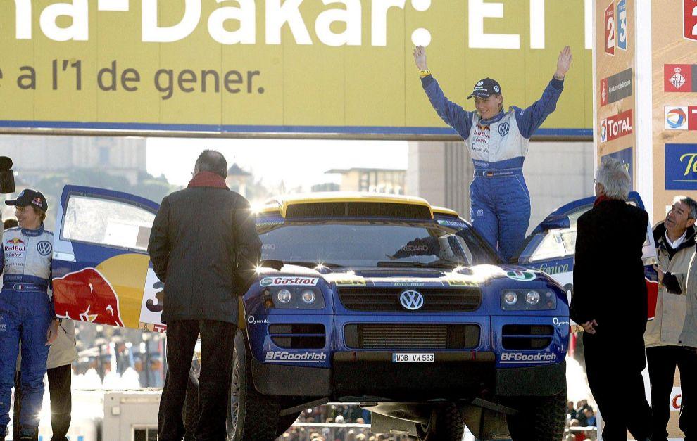 Kleinschmidt fue compañera de Sainz en VW y comenzó el desarrollo de...