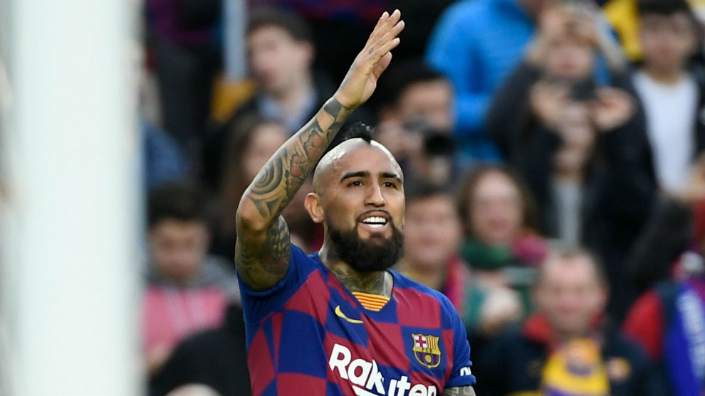 Barcelona won't give in to Vidal's demands