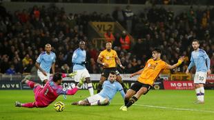 Raúl Jiménez anotó el segundo gol del Wolverhampton ante el...