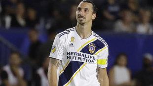 Zlatan Ibrahimovic, durante su etapa en Los Galaxy.