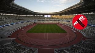 Imagen del estadio olímpico de Tokio