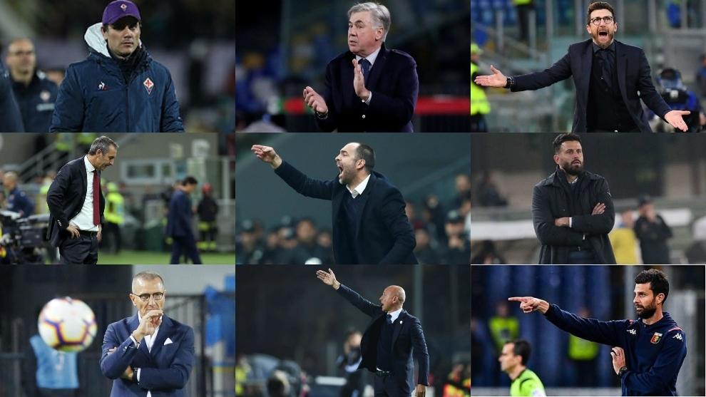 Entrenadores despedidos en Serie A
