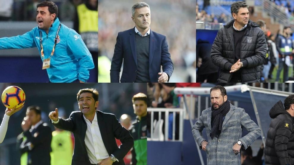 Entrenadores despedidos en la liga española