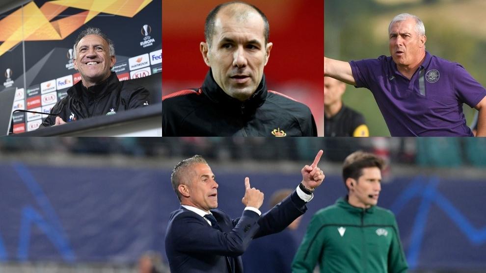 Entrenadores despedidos en la Bundesliga