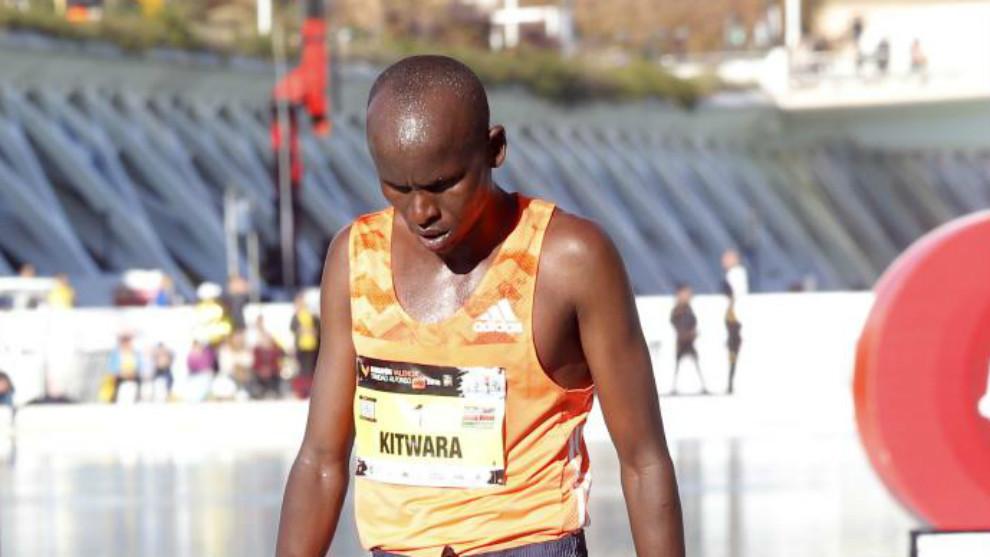 Kitwara, en el maratón de Valencia