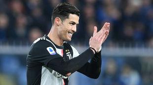 Cristiano Ronaldo aparece en la lista