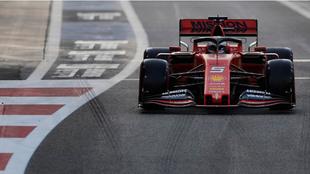 Vettel en carrera de Abu Dhabi
