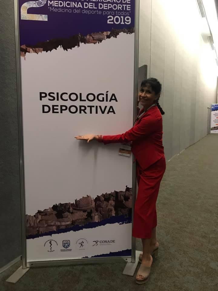 Claudia Rivas ha trabajado gran parte de su carrera con atletas de...