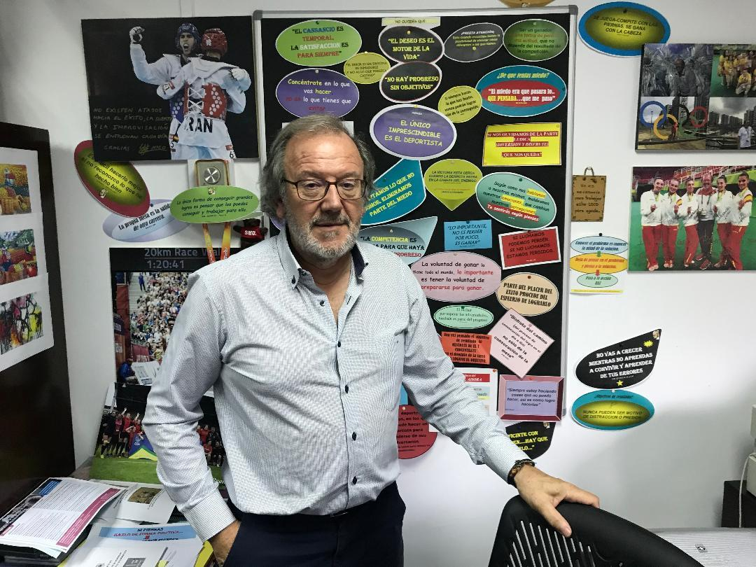Pablo del Río trabaja con atletas españoles que van a Tokyo 2020 |...