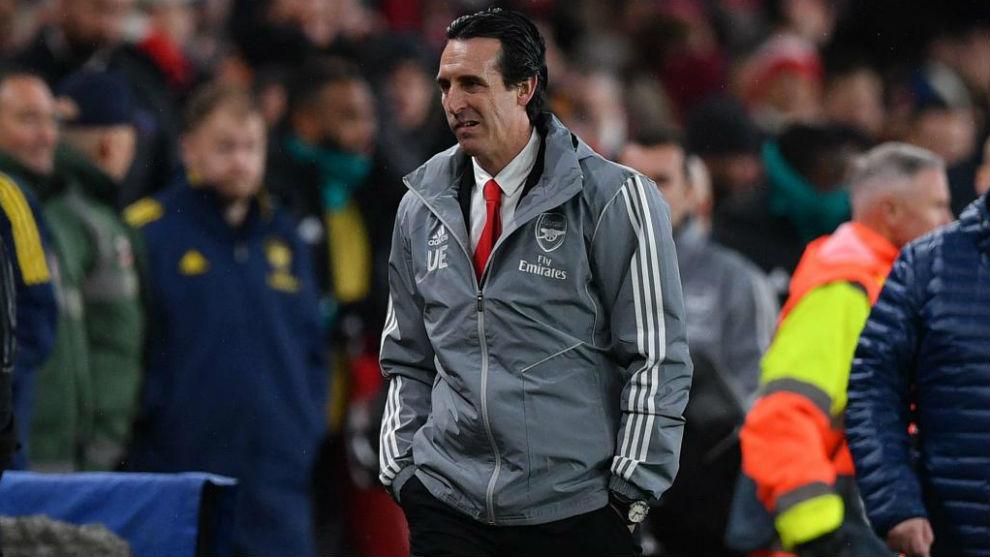 Emery, en el Arsenal.