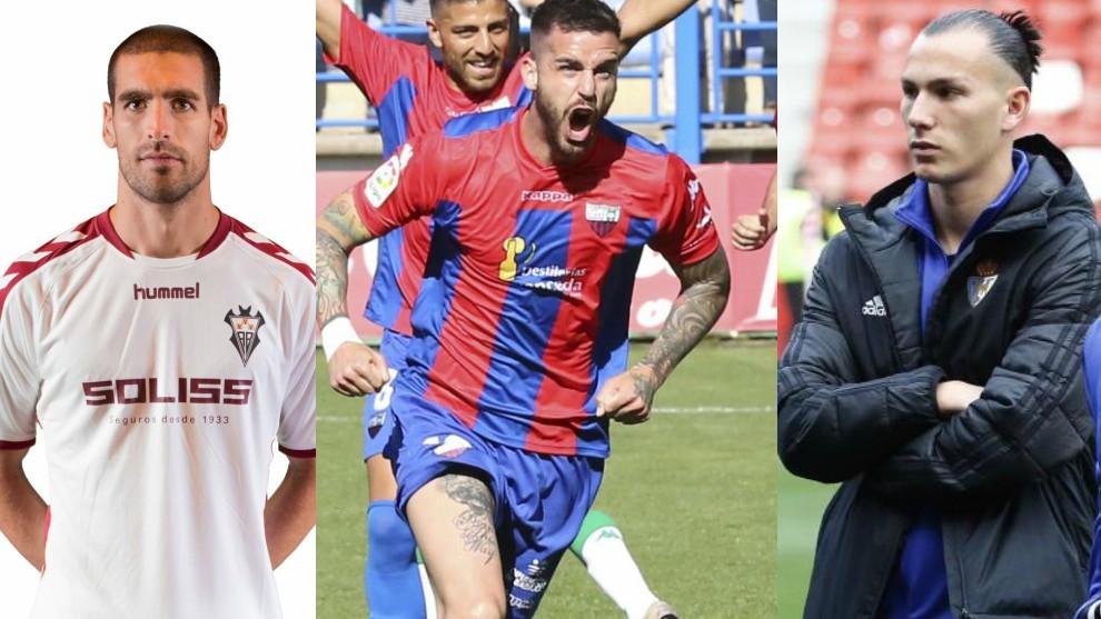 Arroyo (Albacete), Borja Granero (rxtremadura) y Son (Ponferradina)